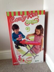 BNIB Candy and Ken Ironing Playset (4-Piece, Multi-Colour)