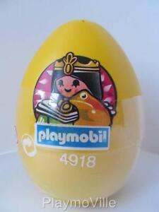 Playmobil Princess & golden frog Easter Egg 4918 New & sealed