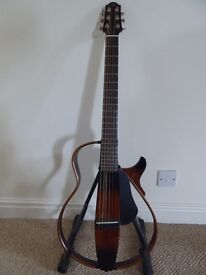 Yamaha SLG200S Silent Guitar, latest generation, home use only, brilliant playability and sound