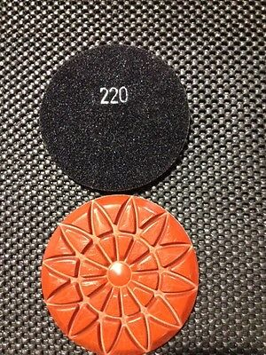 3 4 220 Grit Rosex Style Concrete Polishing Resin Diamond