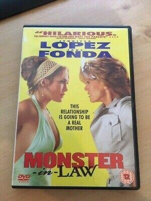 MONSTER IN LAW DVD JENNIFER LOPEZ