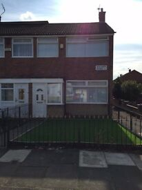 Three bedroom unfurnished end Terrace in a sought after location, close to West Derby Village,