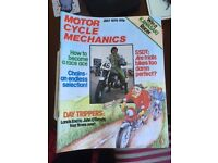 33 MOTORCYCLE MAGAZINES - 70'S EARLY 80'S - GOOD CONDITION - COLLECTION ONLY