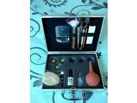 Eyelash extension kit in case