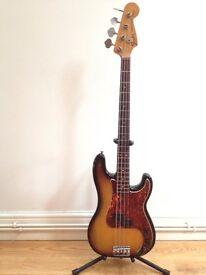 Fender Precision Bass 1970 USA sunburst