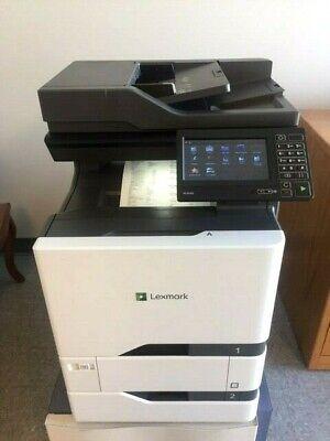 Lexmark Xc4140 Color Copier W Network Scan Copy Fax 40ppm