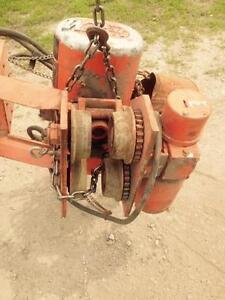 1,000 lb.CM Electric chain hoist, Mod. F2, speed 16/5 fpm, Electrics.. 460 volt 3/60,