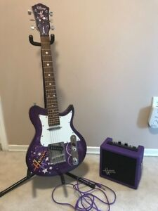 Washburn Hannah Montana Electric Guitar by Disney 3/4 scale