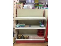 Shop / Retail Shelves / Shelf Units for Sale - Good Condition £50-£70 per unit ONO