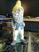 Yard Garden Gnomes Decor by Re-Painting them Give me a Call