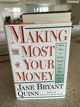 Making the Most of Your Money by Jane Bryant Quinn Jerrabomberra Queanbeyan Area Preview