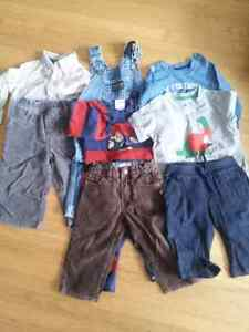 Boys 12-18 month lot.