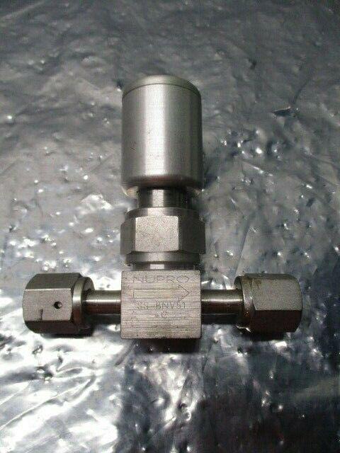 SWAGELOK Nupro SS-BNV51-C Bellows Sealed Valve, gas line shutoff valve,102073