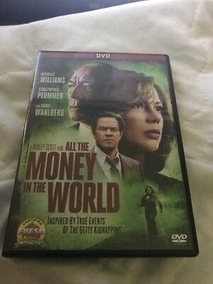All the Money In The World (DVD,2017)****FREE 1ST CLASS SHIPPING***