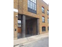 Parking space available to rent in secure gated development 5 minute walk to Westferry DLR