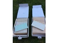 Brand new Laura Ashley tiles. 2 boxes