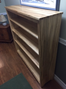 Solid 'Wormy' Maple Bookcase