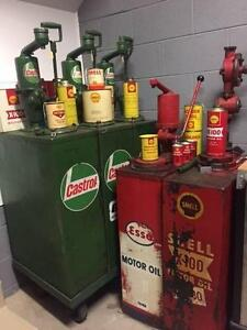 WANTED TO BUY - Automotive Items, Cans, Tins, Signs, Bowsers etc Coburg Moreland Area Preview