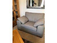 sofa and cuddle seat