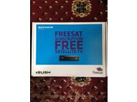 BUSH FREESAT HD SATELLITE TV RECEIVER (NEW - PURCHASED, TV HAD BUILT IN FREE SAT, LOST RECEIPT)