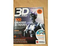 3D World 100 Greatest 3D Movies Feb 2008 +Free CD