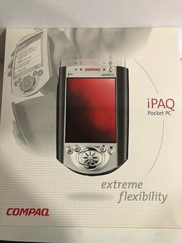 Compaq iPaq H3635 PDA Pocket PC Brand New Compaq Sealed LOOK