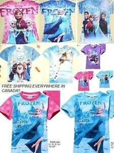 Frozen Olaf Sven T-shirt  pour garçon& fille,for boys & girls West Island Greater Montréal image 9