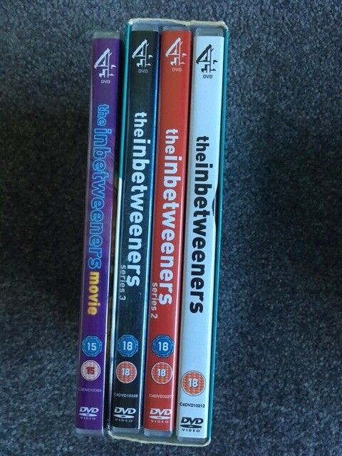 Inbetweeners DVD Boxset and Movie