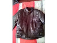 2 piece Akita mercury plus leathers