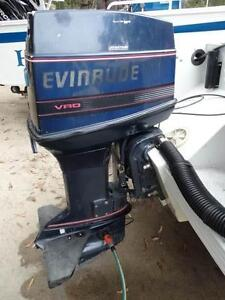 Evinrude 70 hp. Outboard Motor, 2 stroke with Power Tilt and Trim Tura Beach Bega Valley Preview