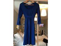 Blue Tunic Dress. Small from Jo Jo Mamam Bebe.