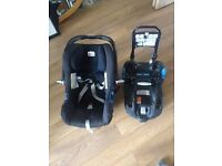Britax babysafe shr2 and isofix base car seat group 0