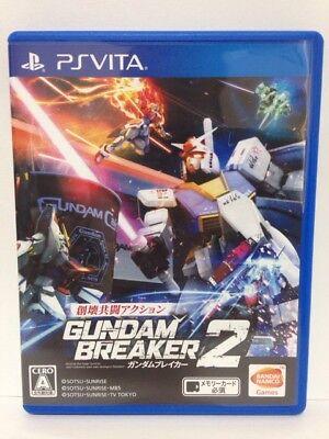 Gundam Breaker 2 PS VITA PSV Used Japan Import BANDAI