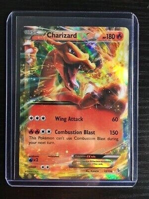 Pokemon XY Flashfire TCG Charizard EX ULTRA RARE Holo Foil Holographic 12/106 NM