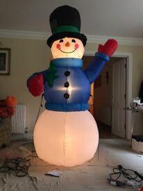 Christmas inflatable indoor/outdoor