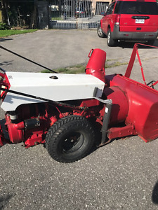 Gravely Snow Blower and Grass Cutting Attachment