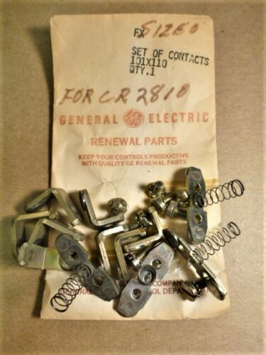 CR2810 GE 101X110 General Electric 4 POLE Size 0 CONTACT RENEWAL PARTS KIT -New