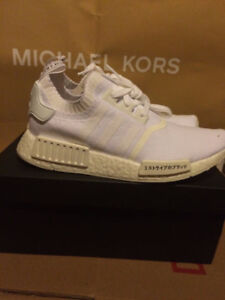 SIZE 8 DS JAPAN NMD TRIPLE WHITE