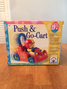Discovery Toys Push & Go Cart