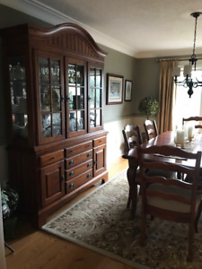 Thomas Kincaid, Dining Room Hutch