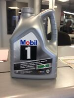 WHAT A DEAL MOBILE 1 10W30 SYNTHETIC OIL 4.4L JUGS
