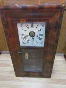 Vintage Working E.N.WELCH 8 Day Clock