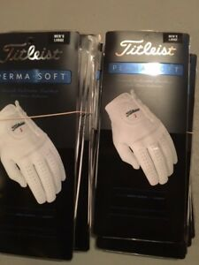 Titleist Perma Soft Leather Gloves. $15 each