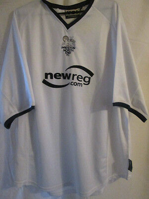 Preston North End 2002-2003 Home Football Shirt Large /9366 image