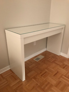 Coiffeuse IKEA MALM Blanche