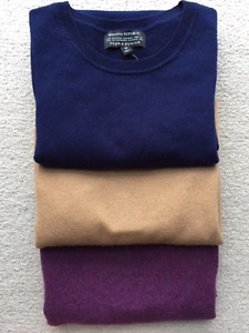 Finest Scottish 100% CASHMERE Sweaters by Todd & Duncan Size XS