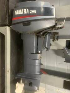 25HP Yamaha Outboard Motor S2635 Southport Gold Coast City Preview