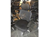 office furniture black mesh office chairs