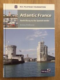 Atlantic France Pilot Book by Imray