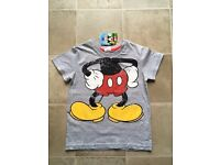 Mickey Mouse T'Shirt Brand NEW with tags 4-5 years